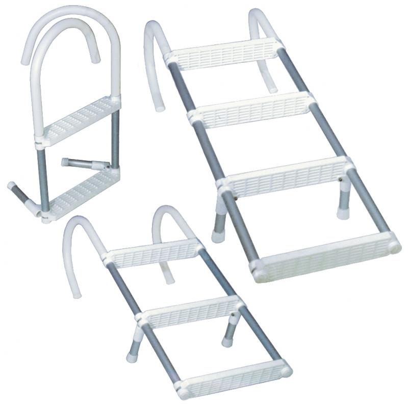 Anoduoto aliuminio kopėtėlės 5 pakopų