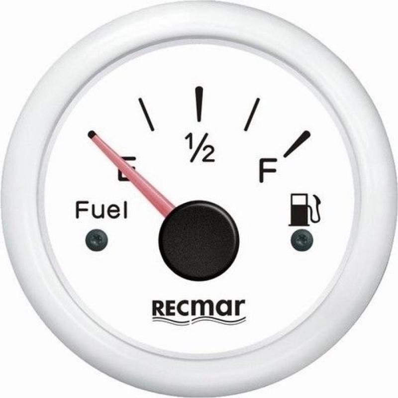 Degalų lygio skydelis baltas RECMAR