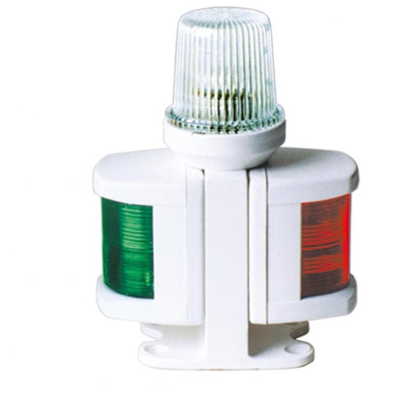 Navigacinis žibintas 3-ijų šviesų 170 x 125mm