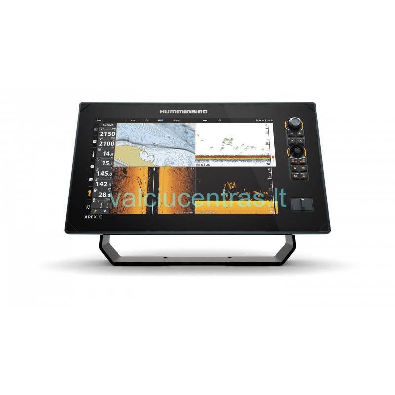 Humminbird Apex 13 MSI+ echolotas - ploteris Full HD