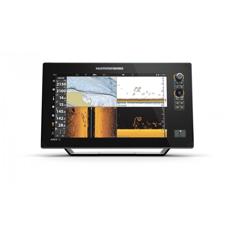 Humminbird Apex 16 MSI+ echolotas - ploteris Full HD