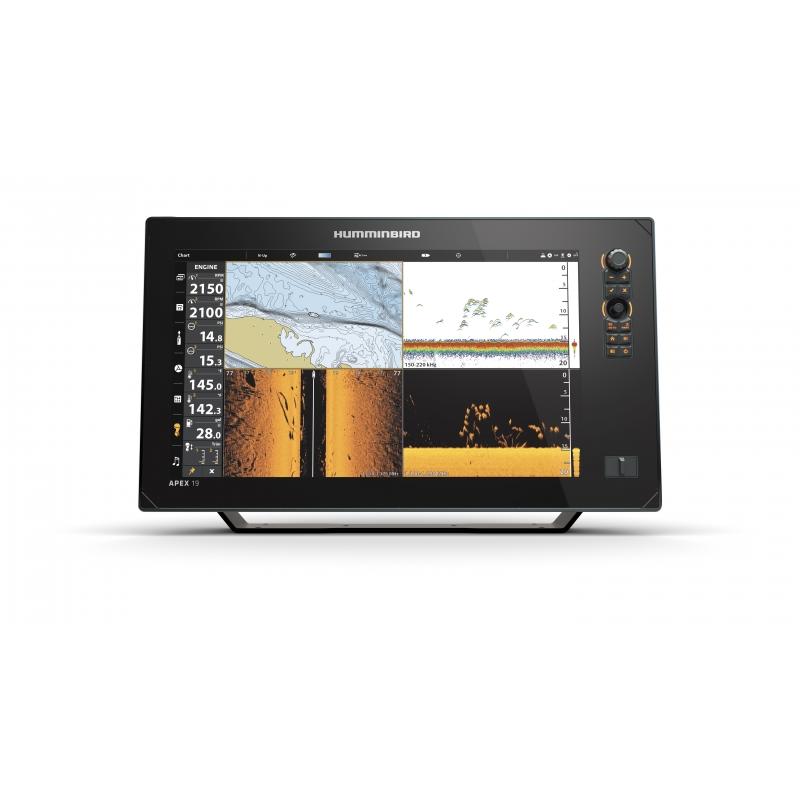 Humminbird Apex 19 MSI+ echolotas - ploteris Full HD