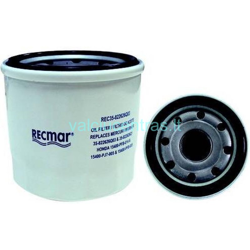 Mercury, Yamaha, Honda, Tohatsu tepalo filtras 8-50AG