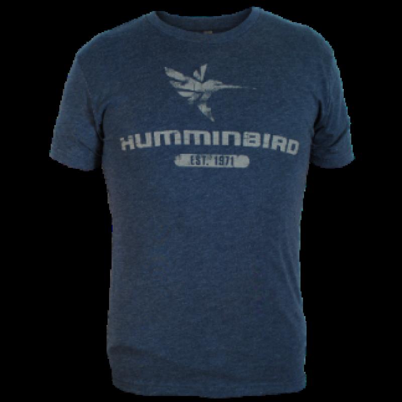Marškinėliai Humminbird Indigo