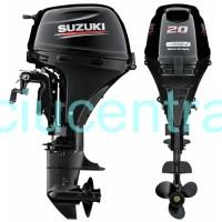 Suzuki DF20ATS pakabinamas valties variklis 20AG - nereikalingas laivavedžio pažymėjimas