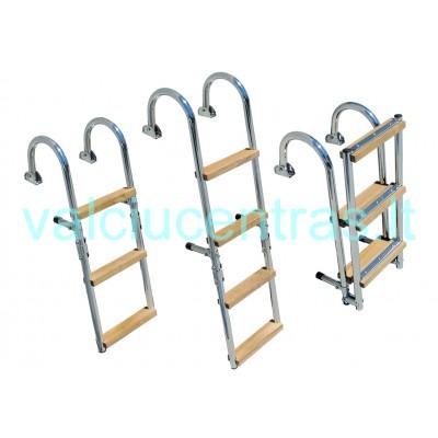Sulankstomos nerūdijančio plieno kopėtėlės 76x27 cm