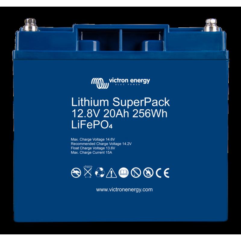 Victron Lithium SuperPack 12,8V/20Ah akumuliatorius