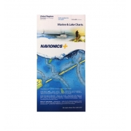 Navionics batimetrinių žemėlapių kortelė