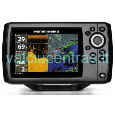 Helix 5 Chirp DI GPS G2 echolotas