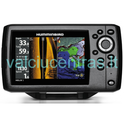 Helix 7 Chirp SI GPS G2 echolotas