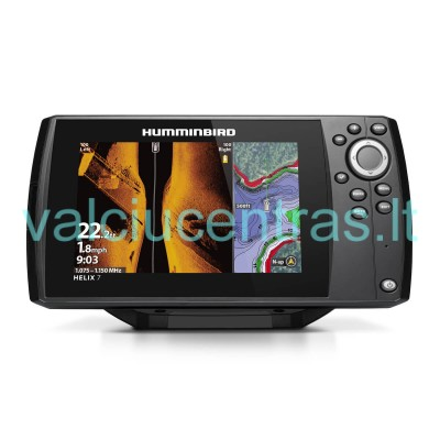 humminbird helix 7 chirp msi gps g3 echolotas automatinis. Black Bedroom Furniture Sets. Home Design Ideas