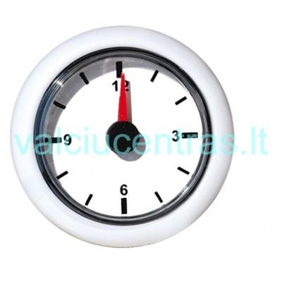 Laikrodis baltas