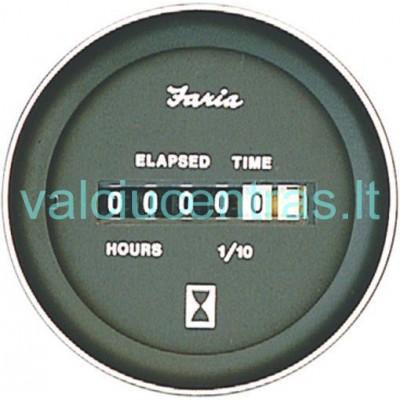 FARIA Moto valandų skaičiuoklė juoda