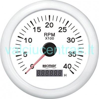 Tachometras - moto valandų skaičiuoklė
