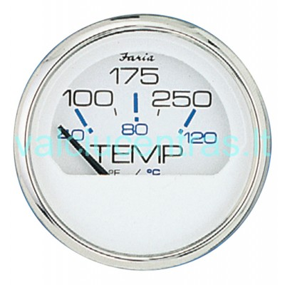 FARIA variklio temperatūros skydelis baltas