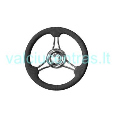 Aukštos kokybės aliuminio vairas 350 mm