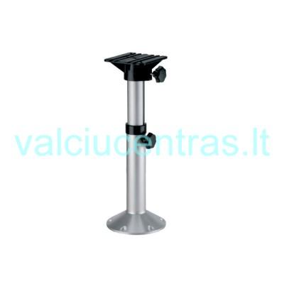 Aliuminė teleskopinė koja kėdei, aukštis 33 - 48 cm