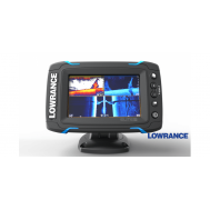 Echolotas Lowrance Elite-9 Ti Mid/High/TotalScan