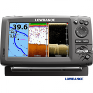 Echolotas Lowrance HOOK-7 Mid/High/Downscan