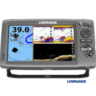 Echolotas Lowrance HOOK-9 Mid/High/Downscan