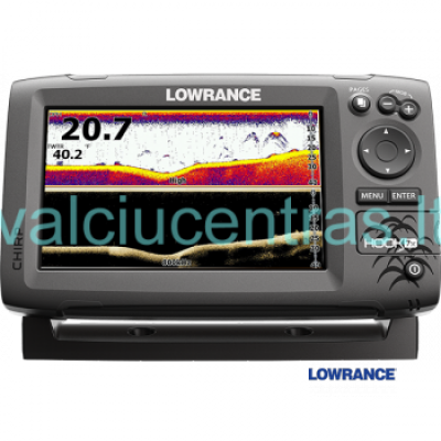 Echolotas Lowrance HOOK-7x Mid/High/Downscan
