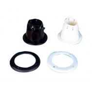 Troso - kabelio įvado guma (juoda)