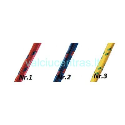 Polipropileno pinta virvė 6, 8, 10 mm